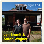 jon brumit and sarah wagner, detroit, mi