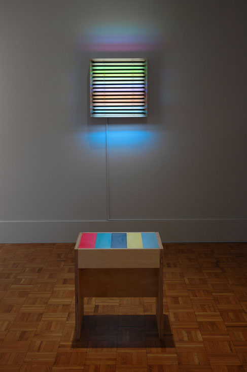 Leah Rosenberg, Illuminated Stripes II