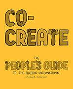 cover of the zine #1 called co-create